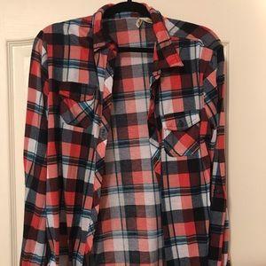Women's Flannel Button Up